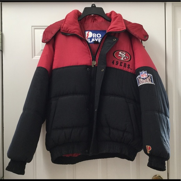 buy popular e034c 580ab Men's 49ers Winter Coat